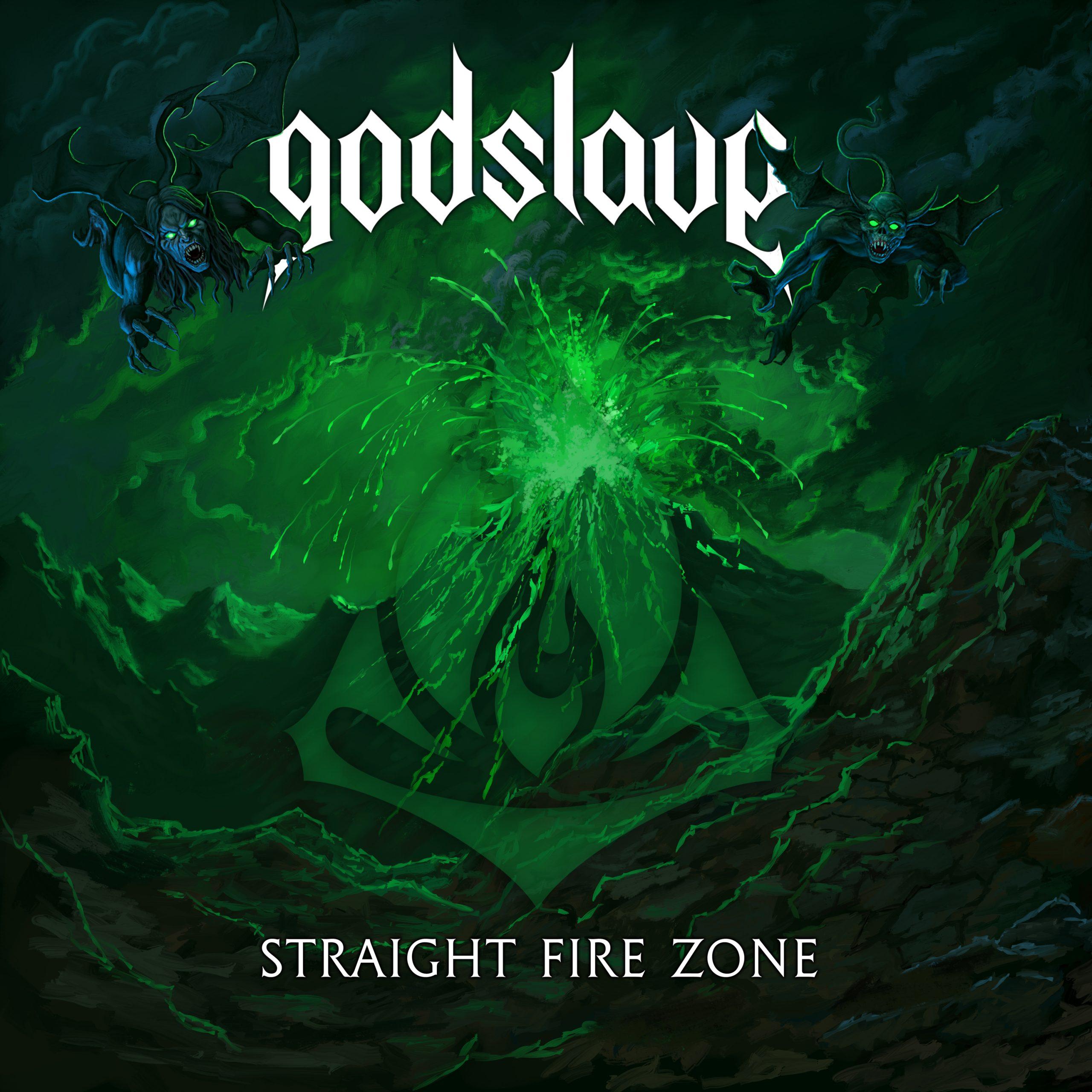 """GODSLAVE veröffentlicht mit """"Straight Fire Zone"""" die zweite Single aus dem kommenden Album """"Positive Aggressive"""" (Metalville / Rough Trade – VÖ 23.07.)."""